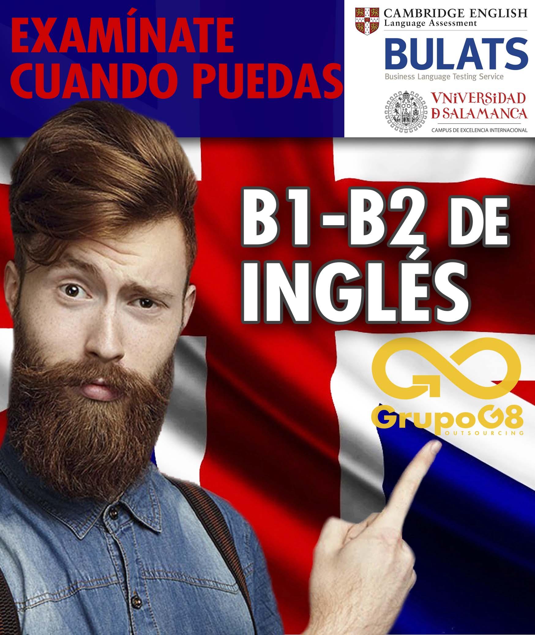 CURSO DE INGLÉS: PREPARACIÓN B1/B2 CAMBRIDGE BULATS