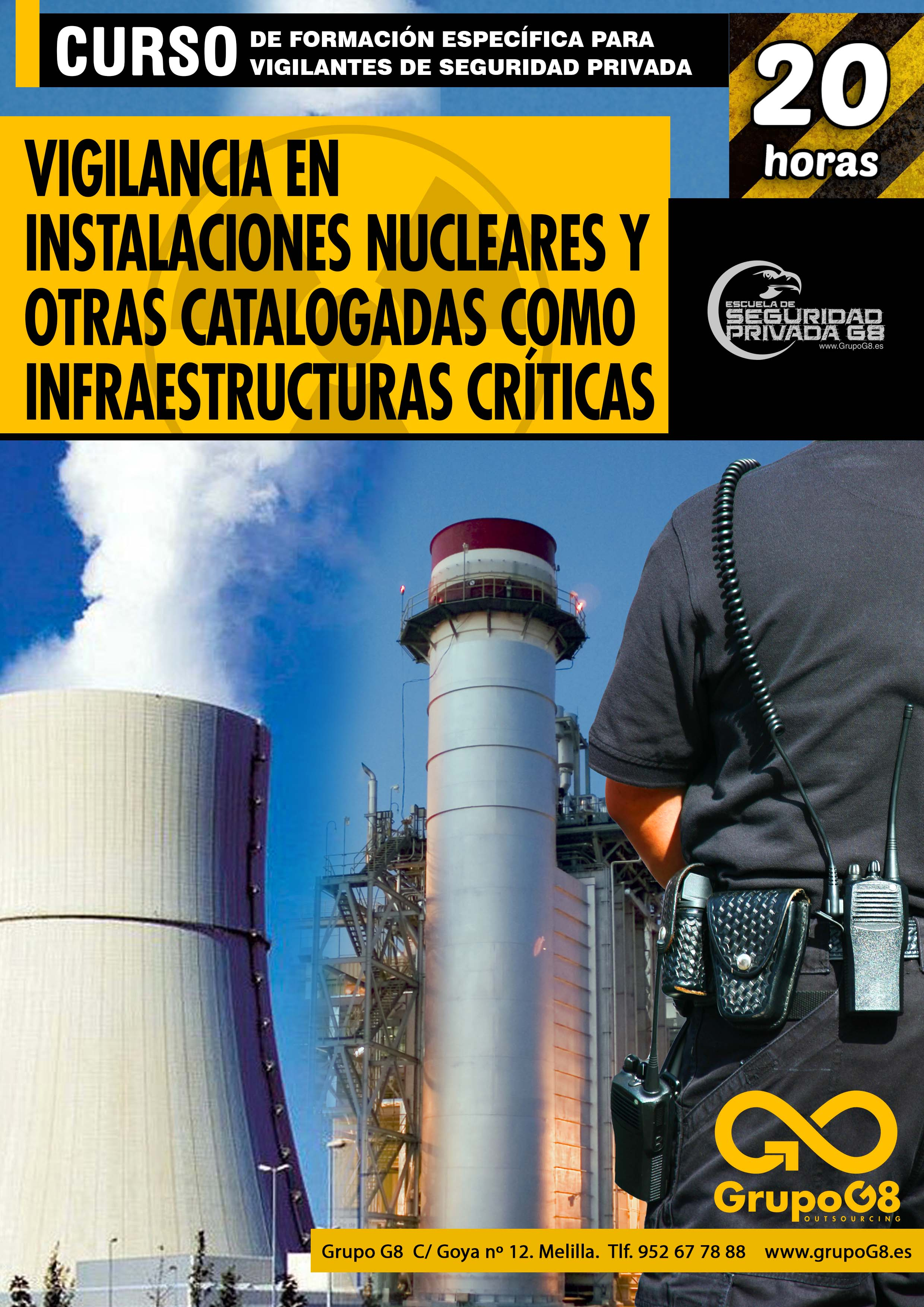 FEVS SERVICIO DE VIGILANCIA EN CENTRALES NUCLEARES Y OTRAS INFRAESTRUCTURAS CRÍTICAS